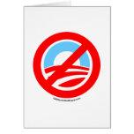 Obama No Logo Card