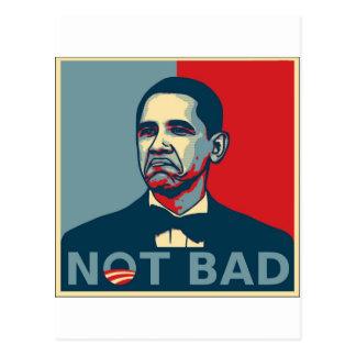 Obama no malo postales