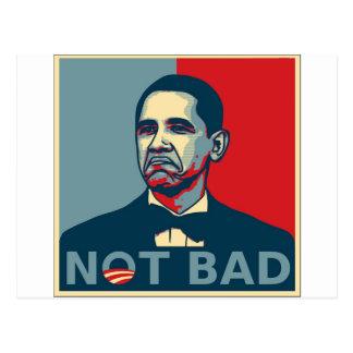 Obama no malo tarjetas postales