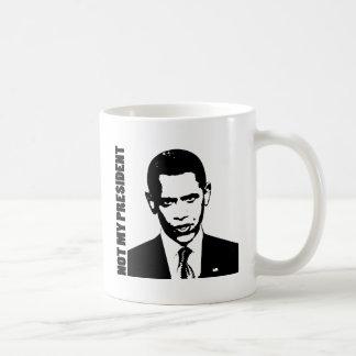 Obama - no mi presidente taza