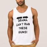 """""""Obama no puede prohibir estos armas!"""" Camisetas s"""