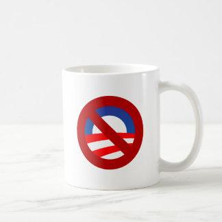 Obama + no sign mug