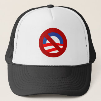 Obama + no sign trucker hat