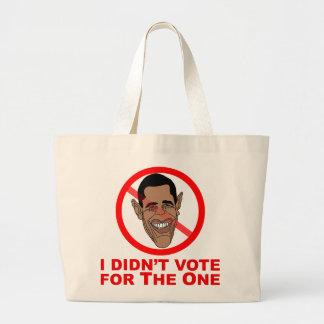 Obama: No voté por el Bolsas