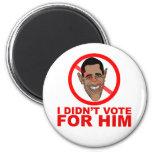 Obama: No voté por ÉL Imán Para Frigorífico