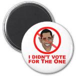 Obama: No voté por el Imanes
