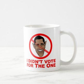 Obama: No voté por el Taza