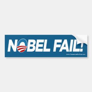 Obama- Nobel Fail Bumper Sticker