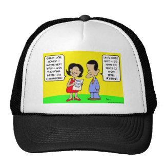 Obama nobel peace prize bill ayers trucker hat
