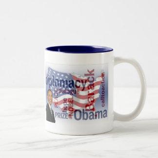 Obama Nobel Prize Commemorative Mug