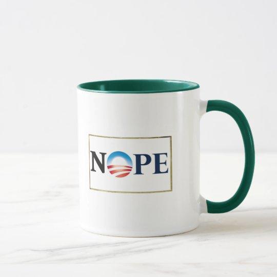 Obama NOPE Mug