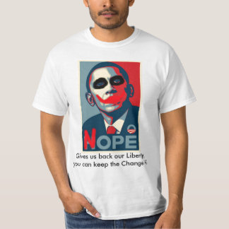 Obama Nope Tshirts