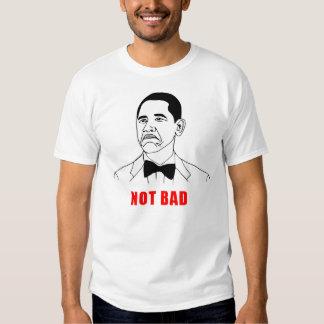 Obama not bad meme rage face comic t shirts