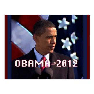 Obama November 2012 Postcard