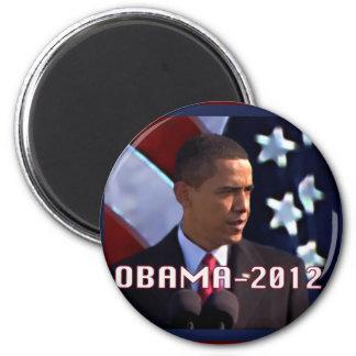 Obama noviembre de 2012 imán redondo 5 cm