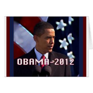 Obama noviembre de 2012 tarjeta de felicitación