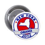 Obama - Nueva York Pin