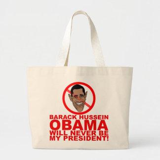 Obama nunca será mi presidente bolsas