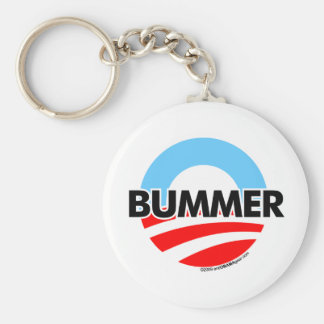 Obama O Bummer Logo Key Chain