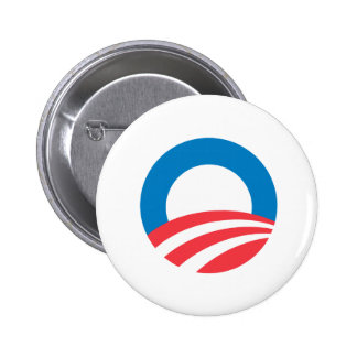 Obama O 2 Inch Round Button