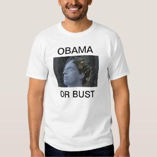 Obama o camiseta del busto playera
