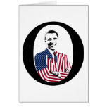 Obama O Design Card