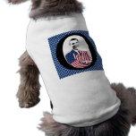 OBAMA -- O Design with Stars Dog Tee