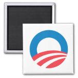Obama O Fridge Magnet