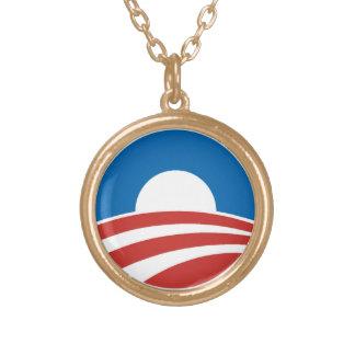 Obama O-Logo Pendant Necklace