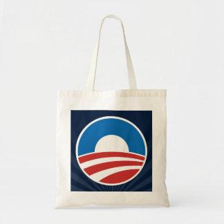 Obama-O Logo with Blue Bags