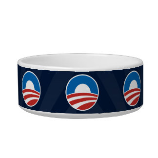 Obama-O Logo with Blue Bowl