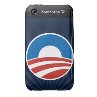 Obama-O Logo with Blue iPhone 3 Covers