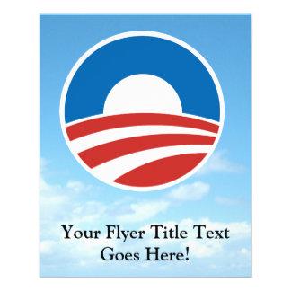 Obama-O Logo with Blue Flyer