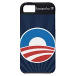 Obama-O Logo with Blue iPhone 5 Case