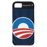 Obama-O Logo with Blue iPhone 5 Cover