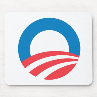 Obama O Mouse Pads