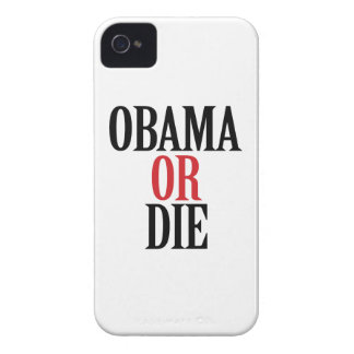 OBAMA O MUERE - .PNG iPhone 4 PROTECTOR