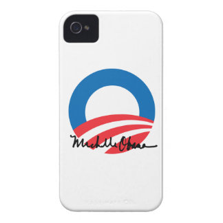 OBAMA O WITH MICHELLE OBAMA AUTOGRAPH BLACKBERRY BOLD CASES