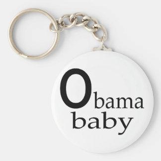 Obama-Obama Baby Keychain