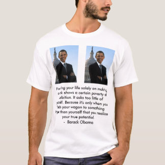 obama, obama, obama, A good compromise, a good ... T-Shirt