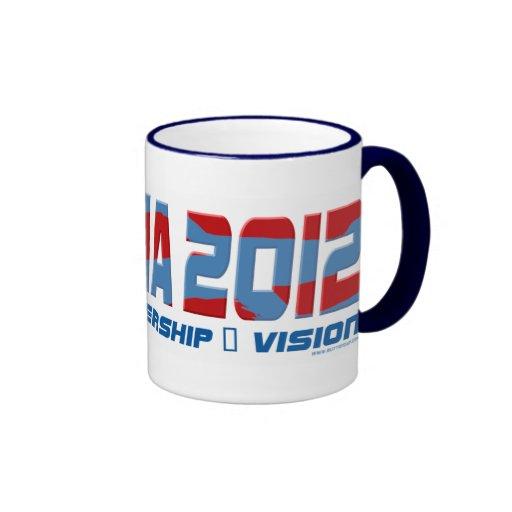 Obama Obamateer 2012 Gear Coffee Mug