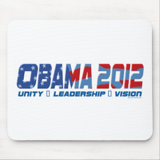Obama Obamateer 2012 Gear Mouse Pad