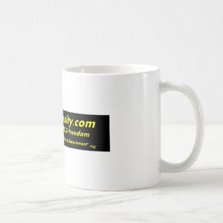 Obama Obesity Fat Gov Kills Freedom Classic White Coffee Mug