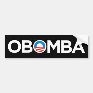 OBAMA OBOMBA EXECUTIVE ORDER BLACK BUMPER STICKER