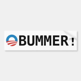 Obama Obummer Etiqueta De Parachoque