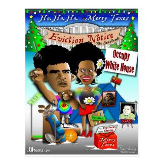 Obama ocupa Casa Blanca Tarjetas Postales