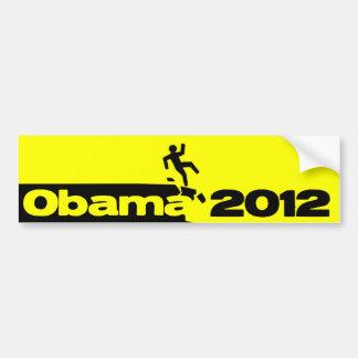 Obama off a cliff - 2012 bumper sticker