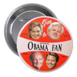 Obama Official Fan Button