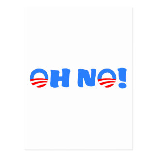 Obama Oh No! Post Cards