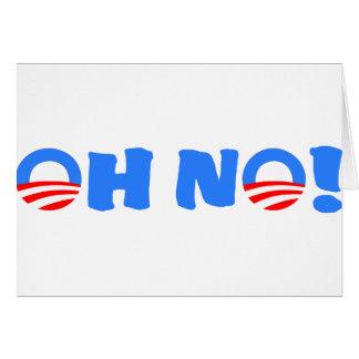 ¡Obama oh no! Tarjeton